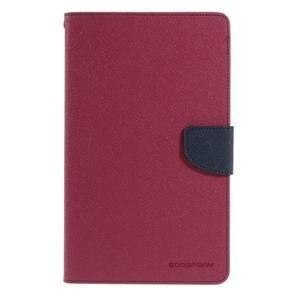Rose peňaženkové puzdro Goospery na tablet Samsung Galaxy Tab 8.0 4 - 2