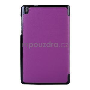 Fialové puzdro na tablet Lenovo S8-50 s funkciou stojančeku - 2