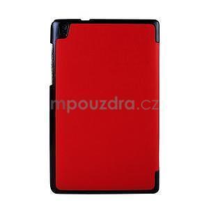 Červené puzdro na tablet Lenovo S8-50 s funkciou stojančeku - 2