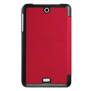 Trifold polohovatelné puzdro pre tablet Acer Iconia One 7 B1-770 - červené - 2