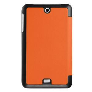 Trifold polohovatelné puzdro pre tablet Acer Iconia One 7 B1-770 - oranžové - 2