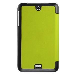 Trifold polohovatelné puzdro pre tablet Acer Iconia One 7 B1-770 - zelené - 2