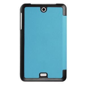 Trifold polohovatelné puzdro pre tablet Acer Iconia One 7 B1-770 - svetlomodré - 2
