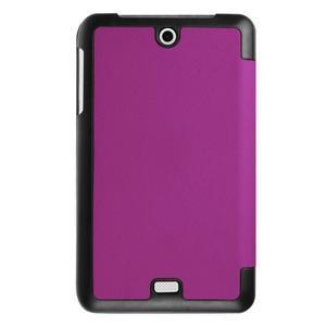 Trifold polohovatelné puzdro pre tablet Acer Iconia One 7 B1-770 - fialové - 2