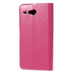Horse peňaženkové puzdro pre Acer Liquid Z520 - rose - 2