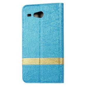 Lines pouzdro na Acer Liquid Z520 - modré - 2