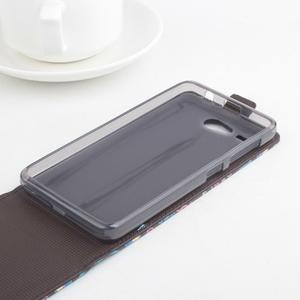 Flipové puzdro pre mobil Acer Liquid Z520 - záda dívky black - 2
