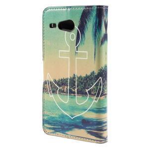 Nice koženkové puzdro pre mobil Acer Liquid Z520 - kotva - 2