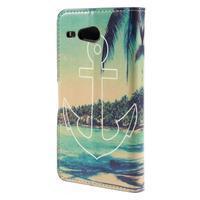 Nice koženkové puzdro pre mobil Acer Liquid Z520 - kotva - 2/7