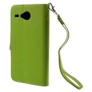Lístkové puzdro pre Acer Liquid Z520 - zelené - 2
