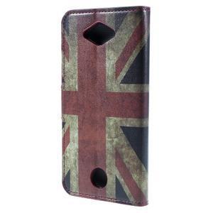 Valet peňaženkové puzdro pre Acer Liquid Z530 - UK vlajka - 2
