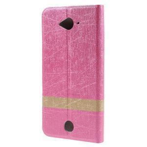 Klopové puzdro pre mobil Acer Liquid Z530 - rose - 2
