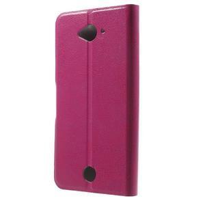 Horse peňaženkové puzdro pre mobil Acer Liquid Z530 - rose - 2