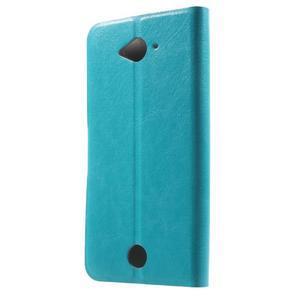 Horse peňaženkové puzdro pre mobil Acer Liquid Z530 - modré - 2