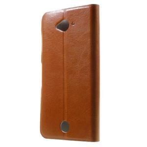 Horse peněženkové pouzdro na mobil Acer Liquid Z530 - hnědé - 2
