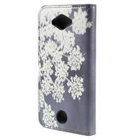 Valet peňaženkové puzdro pre Acer Liquid Z530 - kvitnúce kvetiny - 2/7