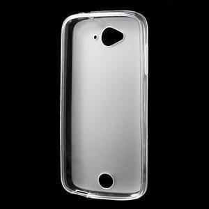 Matný gélový obal pre Acer Liquid Z530 - biely - 2