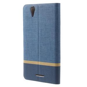Klopové puzdro pre mobil Acer Liquid Z630 - modré - 2