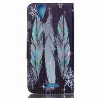 Peňaženkové puzdro pre mobil Acer Liquid Z630 - pierka - 2/6