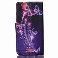 Peněženkové pouzdro na mobil Acer Liquid Z630 - kouzelní motýlci - 2/6