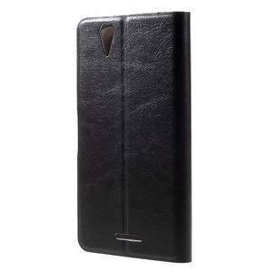 Horse peňaženkové puzdro pre Acer Liquid Z630 - čierné - 2