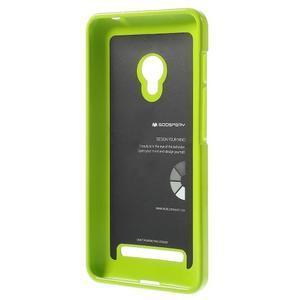 Gélový obal na Asus Zenfone 5 - zelený - 2
