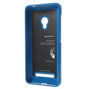Gélový obal pre Asus Zenfone 5 - modrý - 2