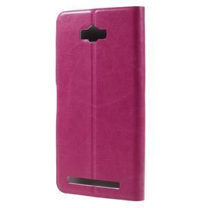 Horse peňaženkové puzdro pre Asus Zenfone Max - rose - 2