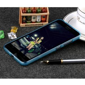 Matný gelový obal na Asus Zenfone Max - modrý - 2