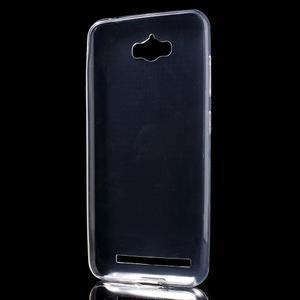 Transparentní gelový obal na Asus Zenfone Max - 2