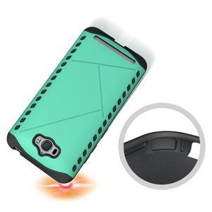 Odolný kryt na mobil Asus Zenfone Max - cyan - 2