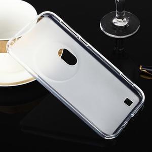 Gélový matný obal pre mobil Asus Zenfone Zoom - biely - 2
