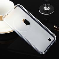 Gelový matný obal na mobil Asus Zenfone Zoom - bílý - 2/7