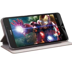 Moof klopové pouzdro na mobil Asus Zenfone Zoom - hnědé - 2