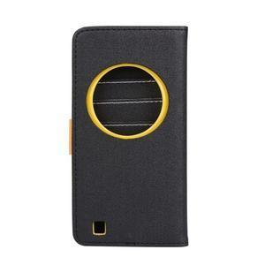 PU kožené puzdro pre Asus Zenfone Zoom - čierné - 2