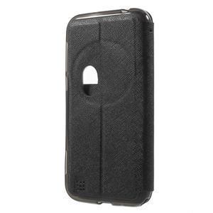 Peněženkové pouzdro s okýnkem na Asus Zenfone Zoom - černé - 2