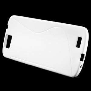 Gélový kryt S-line Huawei Ascend G7 - biely - 2