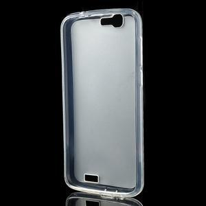 Gélový obal s matným chrbtom Huawei Ascend G7 - 2