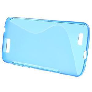 Gélový kryt S-line Huawei Ascend G7 - modrý - 2