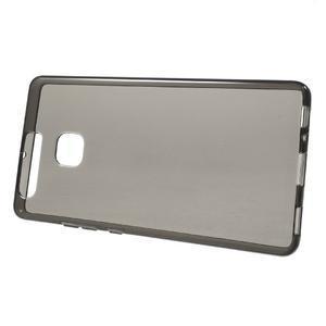 Gelový obal na mobil Huawei P9 - šedý - 2