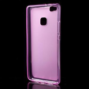 Matný gélový obal pre mobil Huawei P9 lite - rosa - 2