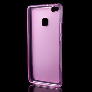 Matný gelový obal na mobil Huawei P9 lite - rose - 2
