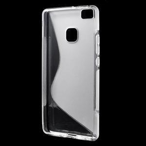 S-line gelový obal na mobil Huawei P9 Lite - transparentní - 2