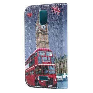 Peněženkové pouzdro na mobil Huawei Y3 a Y360 - Big Ben - 2
