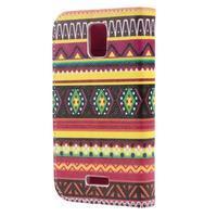 Peněženkové pouzdro na mobil Huawei Y3 a Y360 - tribal - 2/6