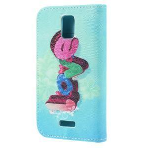 Peňaženkové puzdro na mobil Huawei Y3 a Y360 - love - 2
