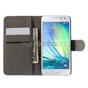Stylové klopové puzdro na Samsung Galaxy A3 - Eiffel - 2