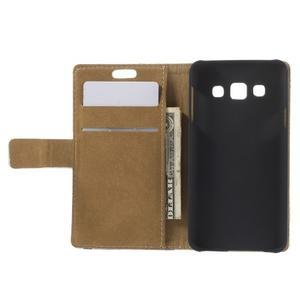 Peňaženkové puzdro pre Samsung Galaxy A3    - Šikmá veža - 2