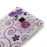 Gélový obal pre Samsung Galaxy A3    - motýl a kruhy - 2/6