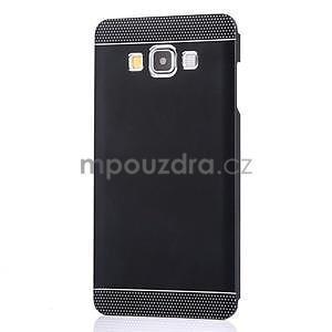 Čierny kovový kryt pre Samsung Galaxy A5 - 2